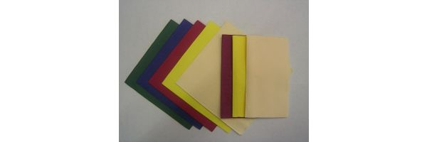 3 - lagig 33 x 33cm uni Farben
