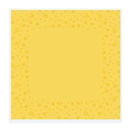 Mitteldecke, Moments uni yellow, 80x80cm, Airlaid, 16x20cm gefaltet, 1 Stück