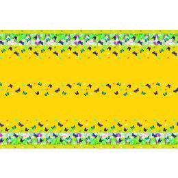 Tischdecke, Colourful spring, Airlaid, 180x120cm, 16x30cm gefaltet, 1 Stück
