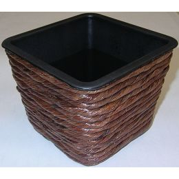 Pflanztopf Hyazinthe, braun, 12 x 10cm, 1 Stück