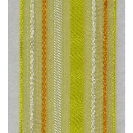 Streifenband gelb 25mm, 20m Spule