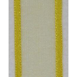 Orginal mit Satinkante gelb 25mm, 25m Spule