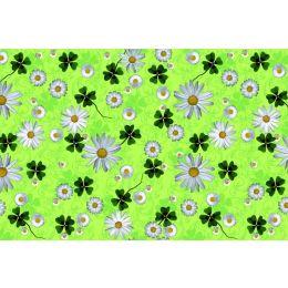 Tischdecke, Happy flowers, Airlaid, 180x120cm, 16x30cm gefaltet, 1 Stück