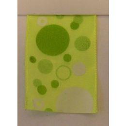 Punkte mit Draht grün 40mm, 20m