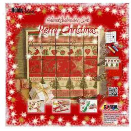 Adventskalender Set  Merry Christmas, 1 Stück