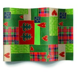 Comfortable Box Patchwork for Xmas