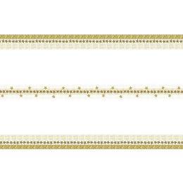 Tischdecke, Stars n ornament, Edelvlies, 220x138cm, 20x35cm gefaltet, 1 Stück