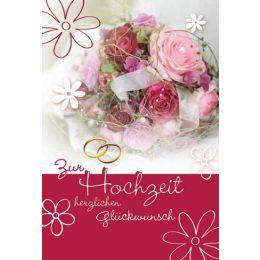 Hochzeitskarte Buget,1 Stück