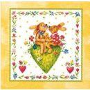 Taschentücher Happy Rabbits, 4-lagig, Tissue,...