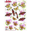 Le Suh Stanzbogen A4 Schmetterling, 1 Stück