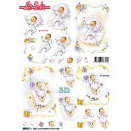 Le Suh Stanzbogen A4 Baby, 1 Stück