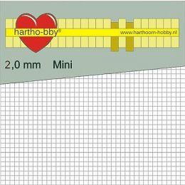 Foam Pads mini`s 2,0mm Stark, weiß, 1 Pack