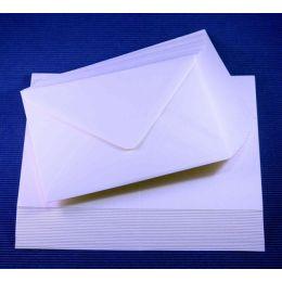 Le Suh Briefumschläge C6 & A5 Karten weiß, 25 Stück