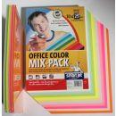 Kopierpapier, farbig in Folie, DIN A4, 250 Blatt