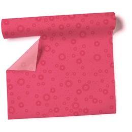 Tischläufer Moments uni pink Airlaid 360x40cm, 1 Rolle