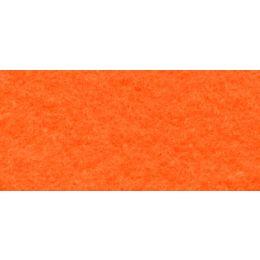 Bastelfilz Platte orange 30 x 40cm, 1 Stück