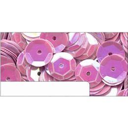 Pailletten im Blister flieder irisierend, 6mm, ca.1400 Stück