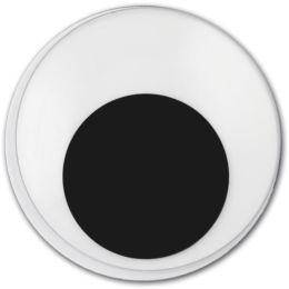Wackelaugen d=8mm rund, 18 Stück