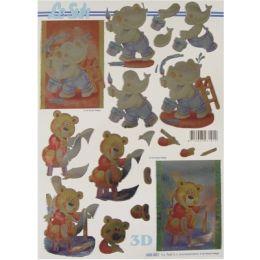 Le Suh Stanzbogen Metallic A4 Elefant, 1 Stück