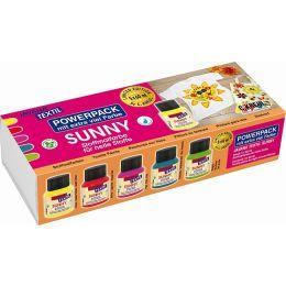Javana Textel  Stoffmalfarben Sunny Power Pack Limitid Edition Set, 1 Stück