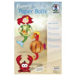 Funny Paper Balls Set Magic Mermaid, 1 Pack