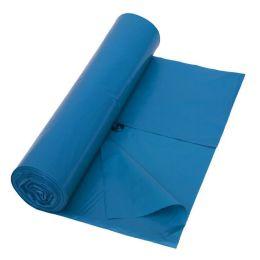 Abfallsack - Müllsack blau 120 Liter 700 x 1100mm Typ 80  LDPE, 25 Stück