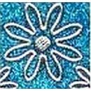 """Sticker Aufkleber """"Herzlichen Glückwunsch"""" 10x23cm, 1 Stück türkis"""