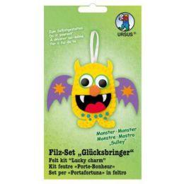 Filz Set Glücksbringer Monster Sulley, 1 Stück