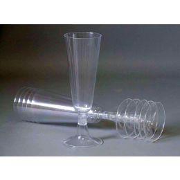 Sektglas PS 100ml mit Eistrich glasklar, 6 Stück