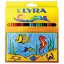 Lyra Farbstift Kartonetui mit 24 Stück