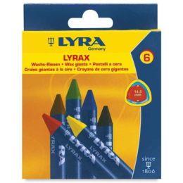 Lyra Lyrax Wachs Riesen Kartonetui mit 6 Stück