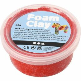 Foam Clay rot, 35g