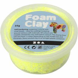 Foam Clay neon gelb, 35g