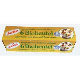 Julia Bio Müllbeutel 18 Liter 6 Stück, 1 Faltschachtel