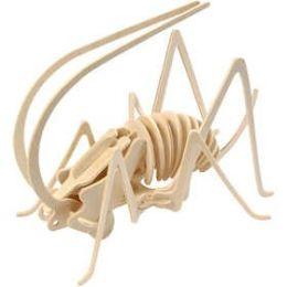 3D Holzpuzzle Grille, 1 Stück