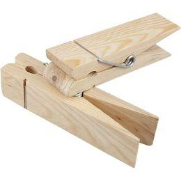 Riesen Holzklammer Birke, 1 Stück