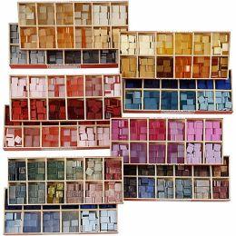 Mosaik aus Kunststoff, Größe 9x9mm