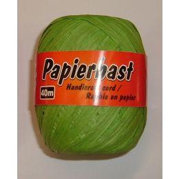 Papierbast hellgrün 40m, 1 Rolle