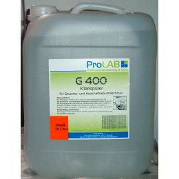 G 400 Klarspüler für Geschirrspülmaschinen, 10 Liter