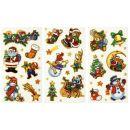 Funny Sticker Weihnachten, 6 Blatt