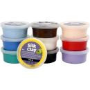 Silk Clay Basic Set 10 x 40g Dosen, 1 Set