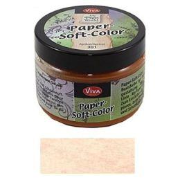 Viva Paper Soft Color Farbe 301 apricot 75ml, 1 Stück