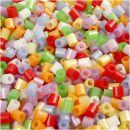 NABBI Bügelperlen 5 x 5mm perlmuttfarben medium 1100 Stück
