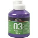 A - Color Acrylfarbe 03 metallic violett 500ml