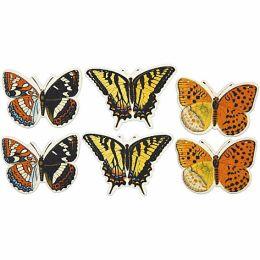 Schmetterlinge sortiert 6 Stück