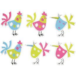 Hühner sortiert 6 Stück