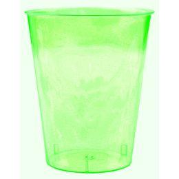 PS Trinkbecher transparent grün ca 200ml, 10 Stück
