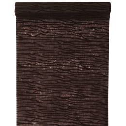 Tischläufer bark cover chair schokolade 30cm x 5m, 1 Rolle