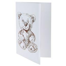Karte Bär, 10 Stück