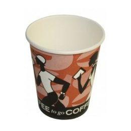 Coffee Cup 300ml / 12 oz Doppelwandbecher mit Druck, 25 Stück